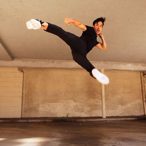 Jumping, Tricking, Flip (acrobatic), Sports, Street stunts, Dance, Dancer,