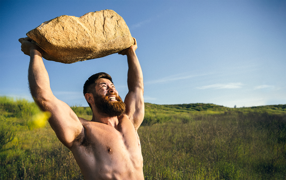 You Can Build Major Muscle With Anything Outdoors thumbnail
