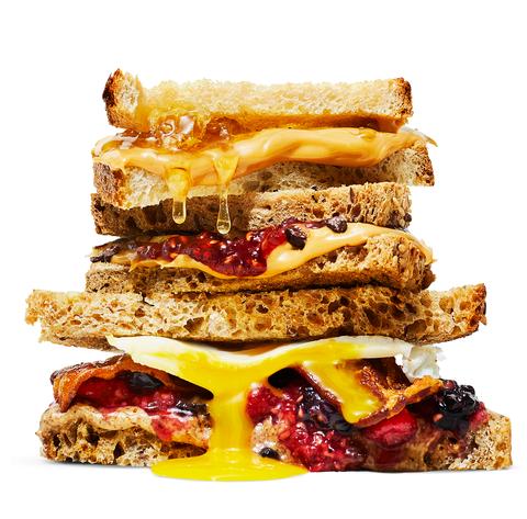 Food, Dish, Cuisine, Ingredient, Bacon sandwich, Produce, Sandwich, Finger food, Baked goods, Breakfast sandwich,