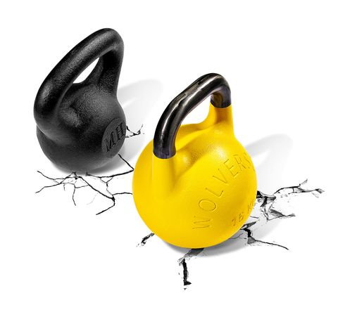 kettlebells, weights