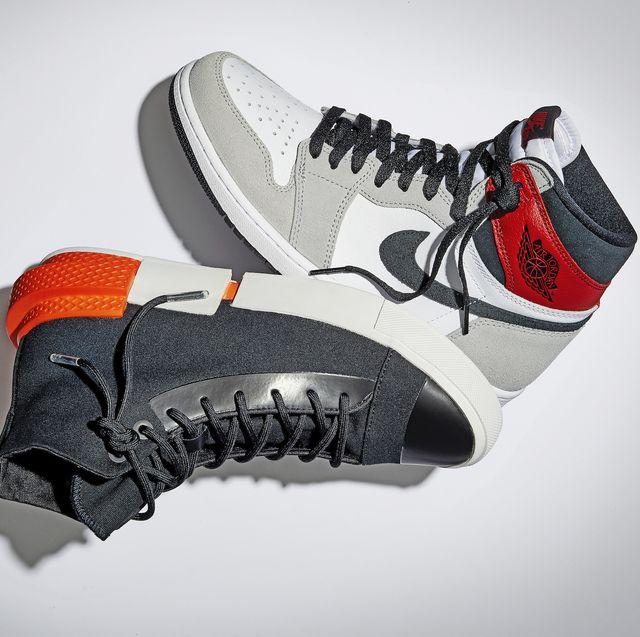 air jordan 1 retro hi og left, converse all star disrupt cx right sneaker