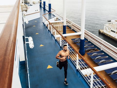 How a Carnival Cruise Director Keeps Himself Shipshape