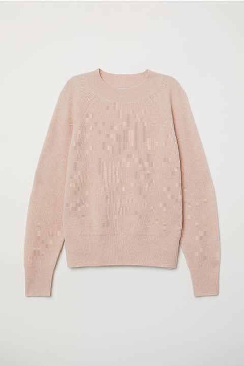 Clothing, Pink, Outerwear, Sleeve, Sweater, Beige, Shoulder, Top, Neck, Peach,