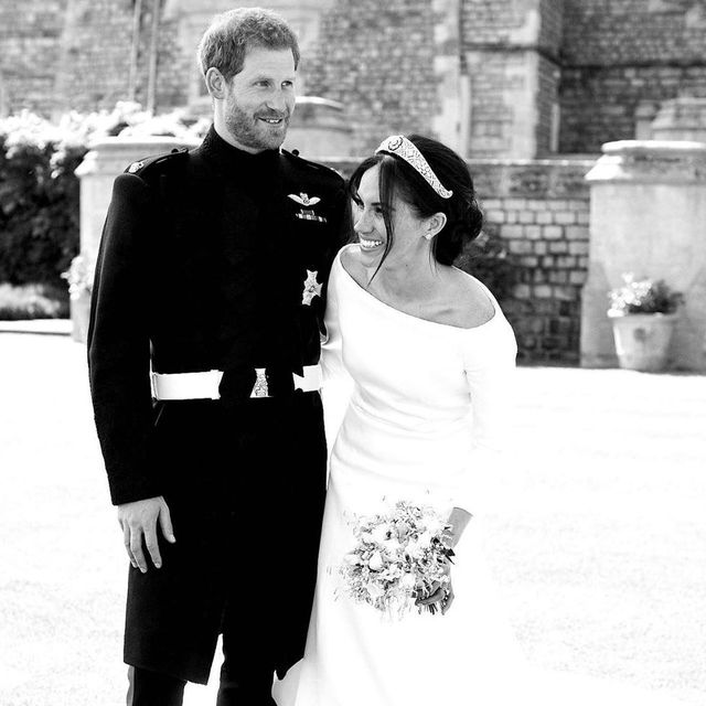 prince harry meghan markle wedding day
