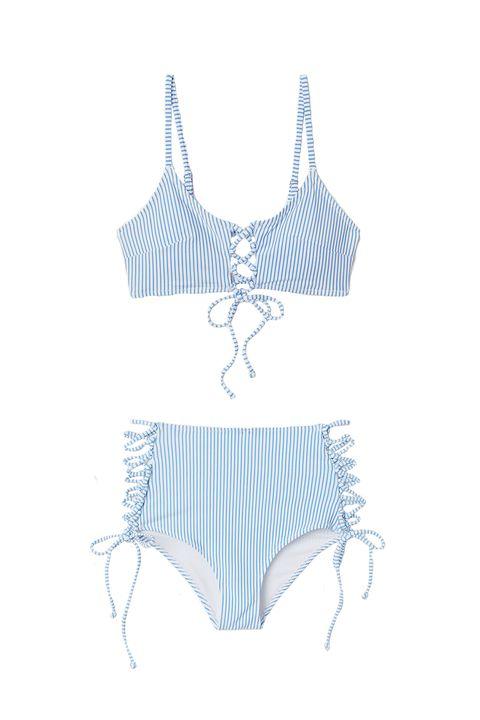 2de9aeae7898 Estos son los bañadores y bikinis de H&M para las que no quieren ...