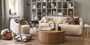 Interieur met H&M HOME-producten