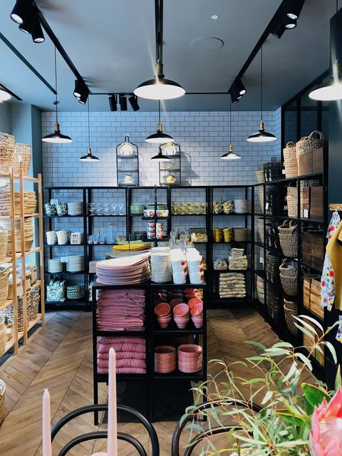 Hm Home Store Opens On Londons Regent Street H And M Home Uk