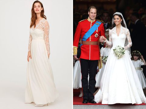 See H&M\'s very affordable take on the Duchess of Cambridge\'s wedding ...
