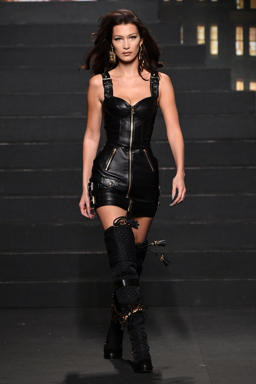 H&M x Moschino catwalk show in New York
