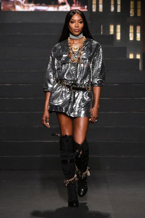 H&M x Moschino catwalk show in New York