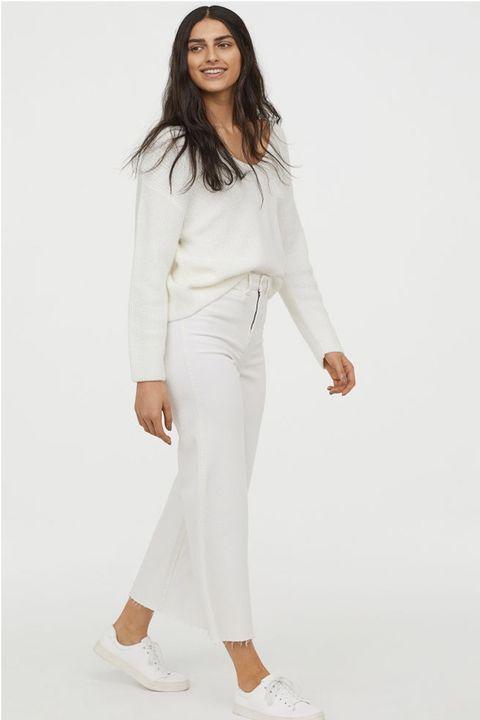 Denim culottes High waist,£24.99
