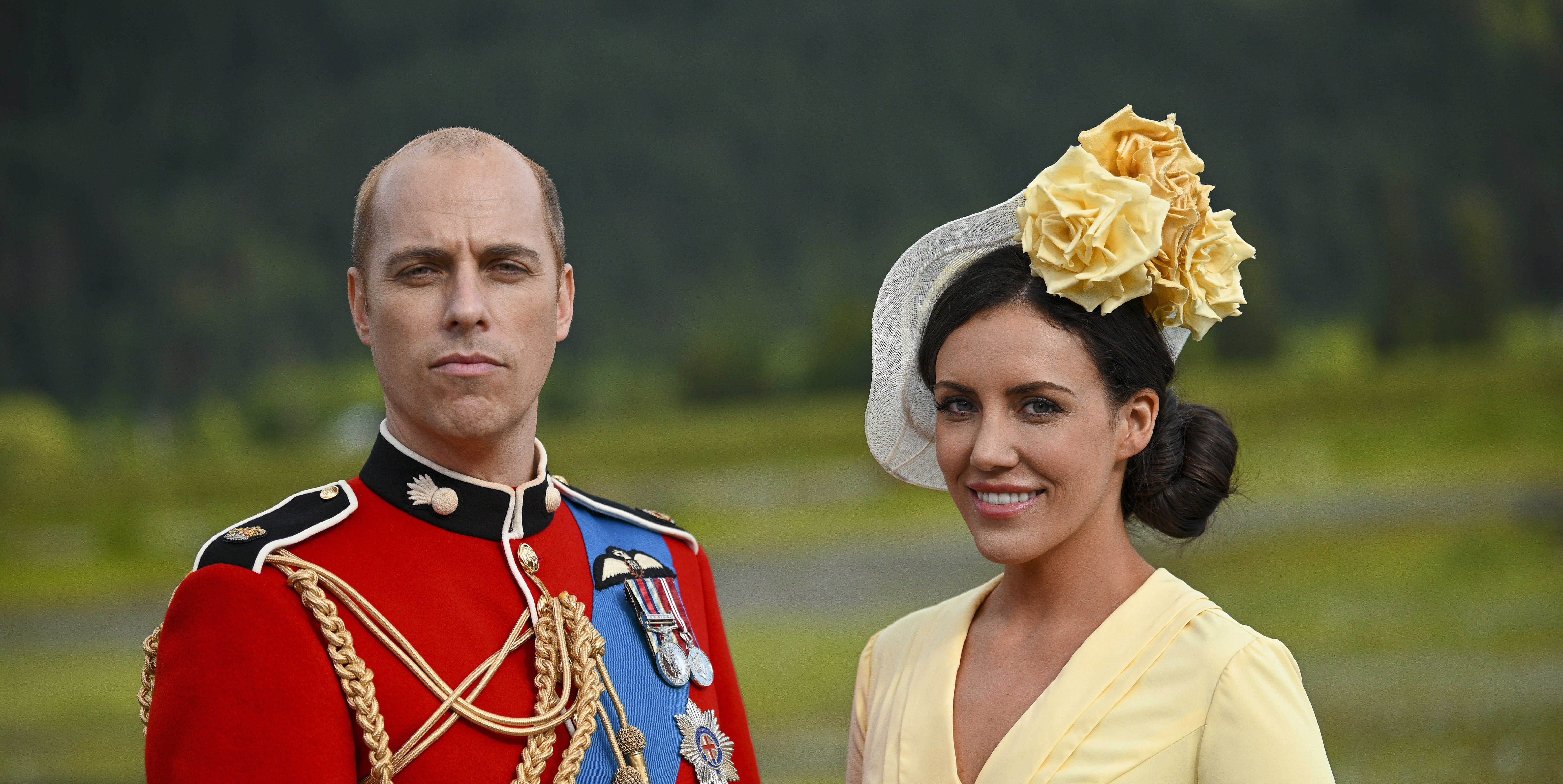Photo of Lifetime's Prince William and Kate Middleton on Their Real-Life Counterparts