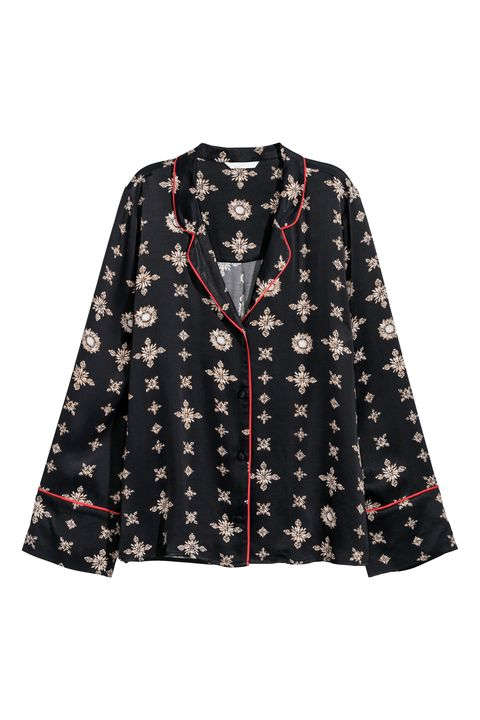 Clothing, Outerwear, Sleeve, Blouse, Collar, Top, Jacket, Button, Pattern, Pattern,