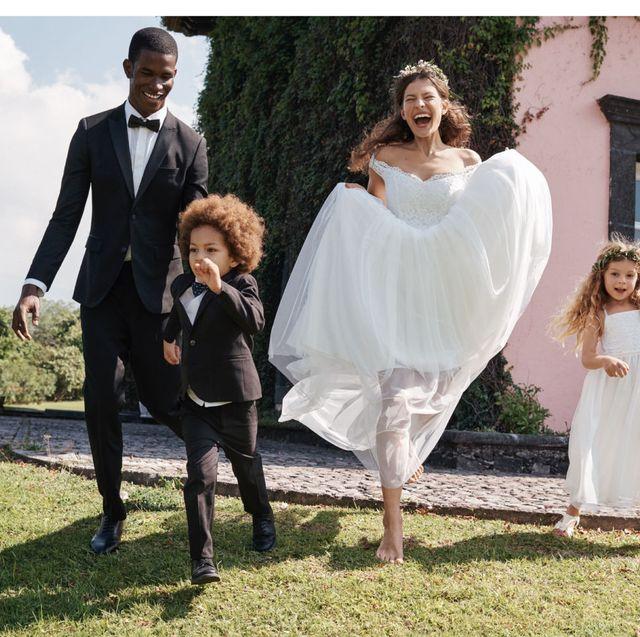 Betaalbare Bruidsjurken.H M Verkoopt Betaalbare Bruidscollectie Met Trouwjurken Van Kant