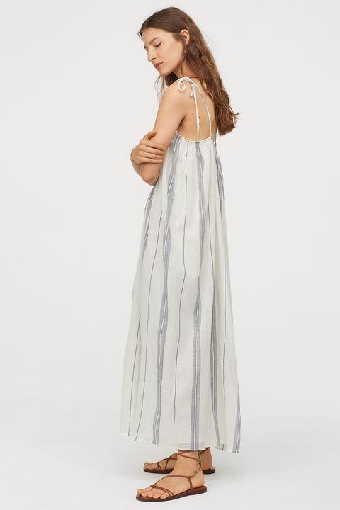 heatwave dressing - H&M stripe maxi dress