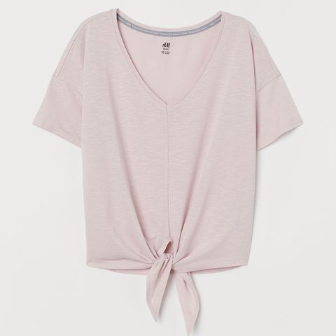 Clothing, Pink, White, T-shirt, Sleeve, Product, Outerwear, Neck, Top, Beige,