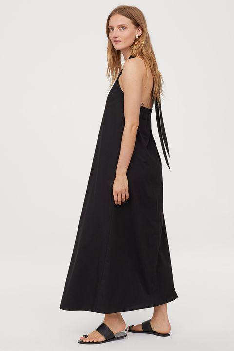 H&M Cotton halterneck dress