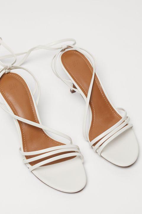 Footwear, Sandal, Shoe, Tan, High heels, Beige, Slingback, Peach, Fawn,