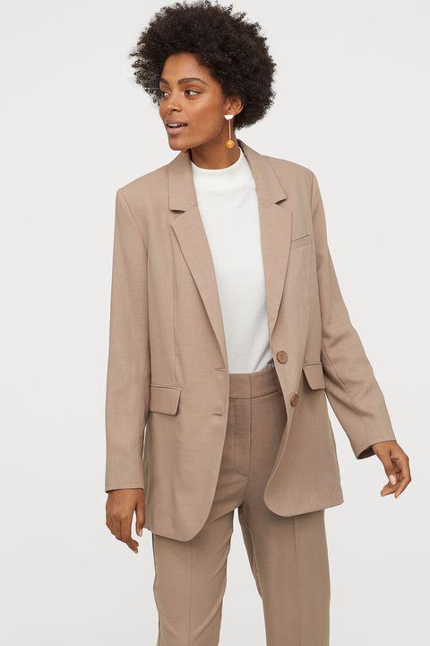 H&M beige blazer