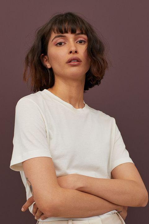best white t shirt
