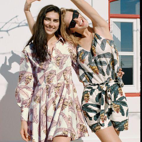 el vestido camisero corto del verano en hm