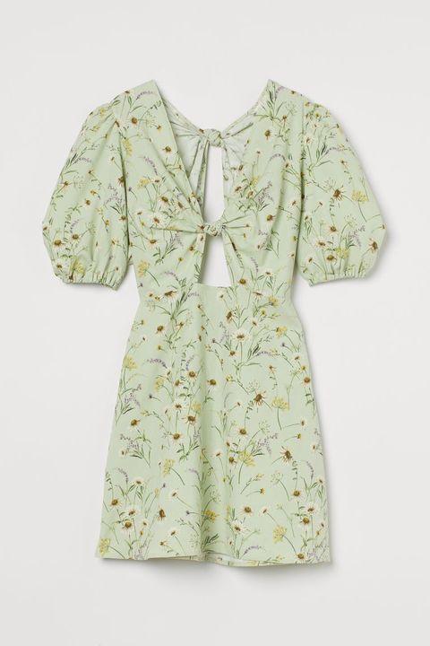 vestido de lino de hym