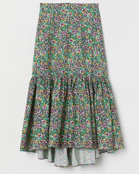 ¿buscas una falda larga pues en hm vas a encontrar las más bonitas