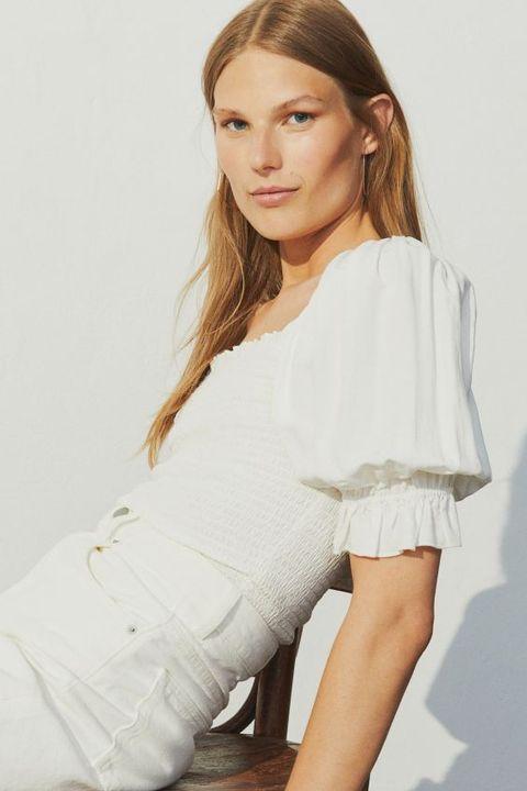 las camisas blancas de hm que te van a enamorar