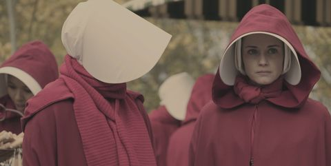 Pink, Outerwear, Maroon, Adaptation, Smile, Landscape, Tradition, Magenta, Hood,