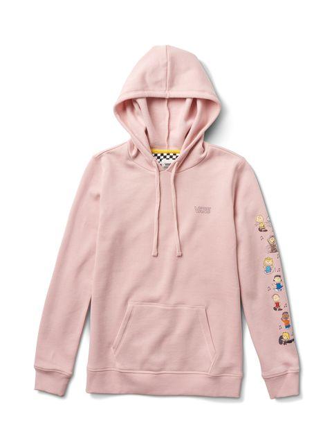 Hoodie, Outerwear, Clothing, Hood, Pink, Sleeve, Sweatshirt, Jacket, Zipper, Peach,
