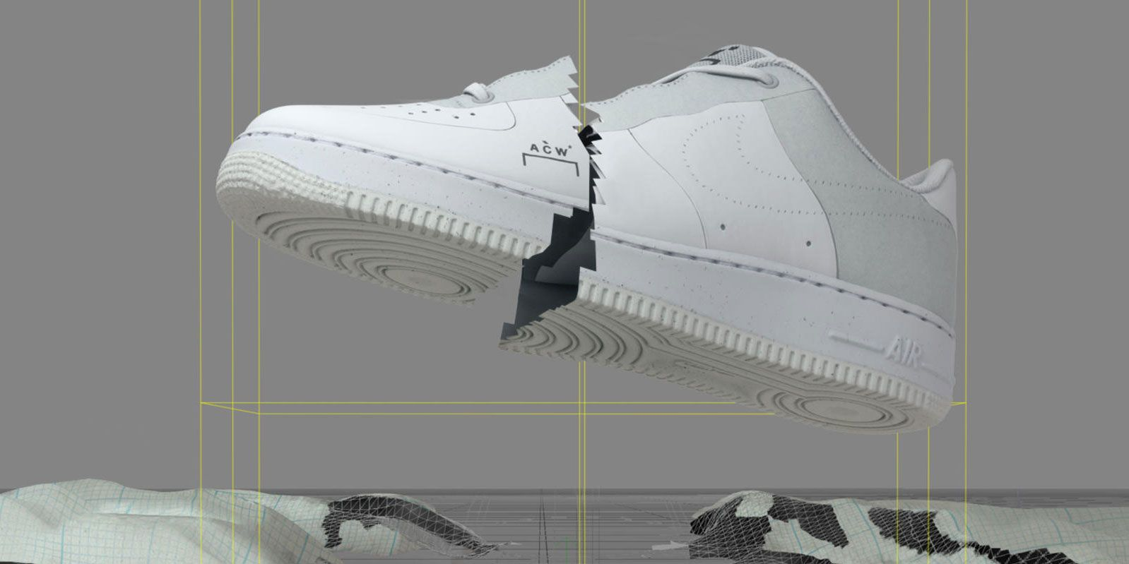 Nike x A Cold Wall* Air Force 1 Low Release Details for