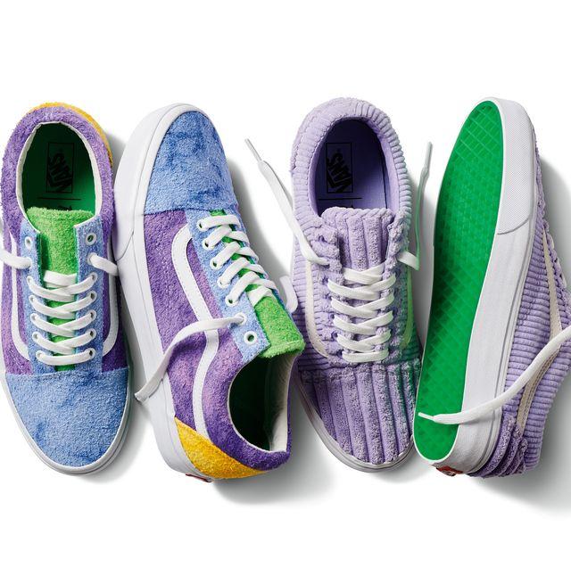 vans帆布鞋超夢幻!薰衣草紫撞色+麂皮燈芯絨 俏皮又時髦!