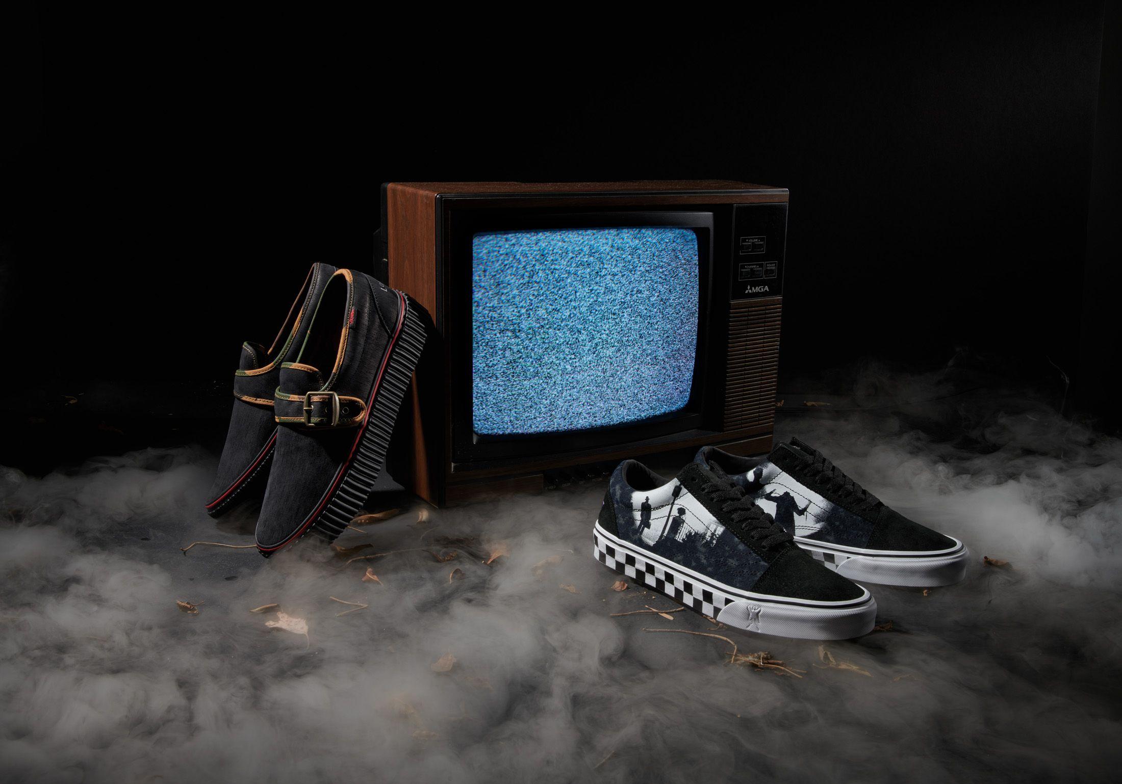 Vans x Horror: la colección de zapatillas perfecta para Halloween