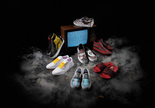 zapatillas vans horror