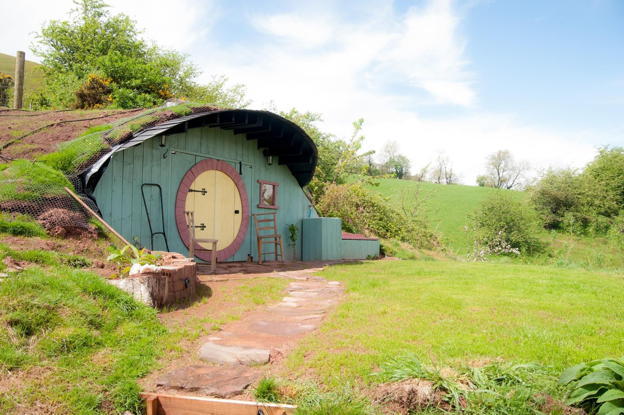 Period property with its own Hobbit House is on sale for £385,000 in Wales
