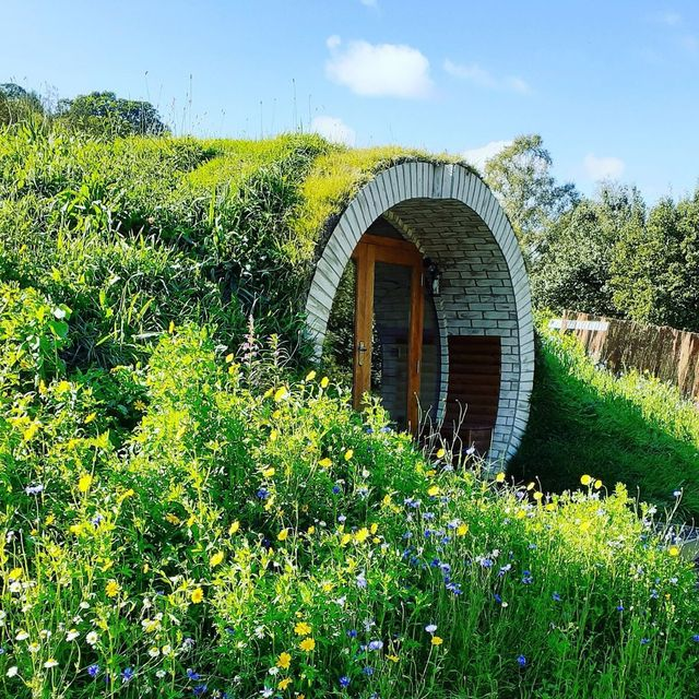 this enchanting hobbit house in wales is the ultimate summer staycation
