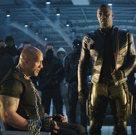 Fast & Furious: Hobbs and Shaw, Dwayne Johnson, Jason Statham, Idris Elba