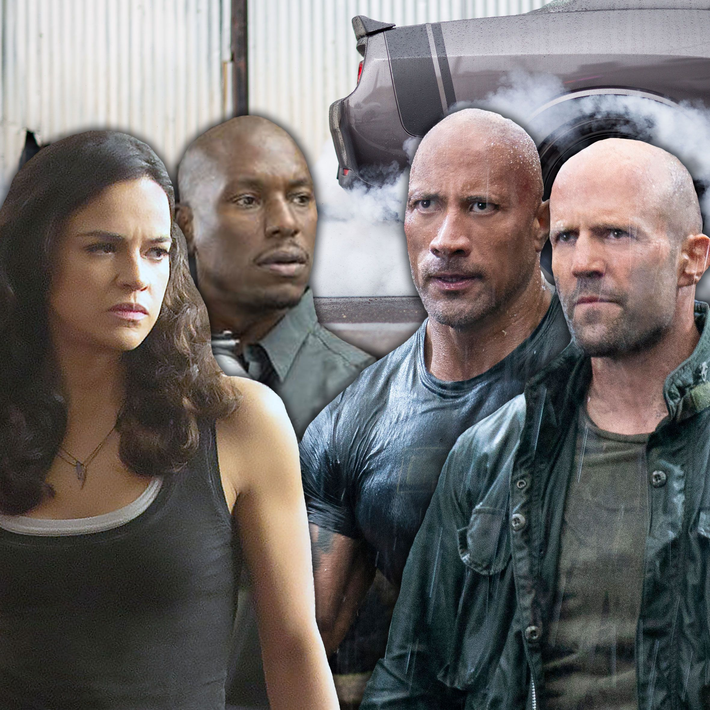 Why Fast & Furious cast members are throwing shade at Hobbs & Shaw
