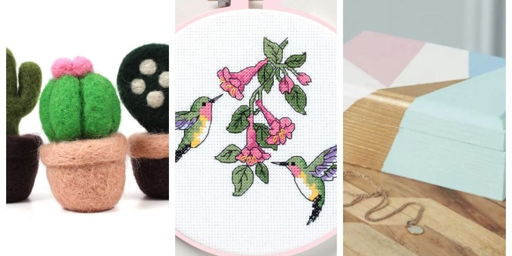 12 of our favourite bestselling Hobbycraft craft kits