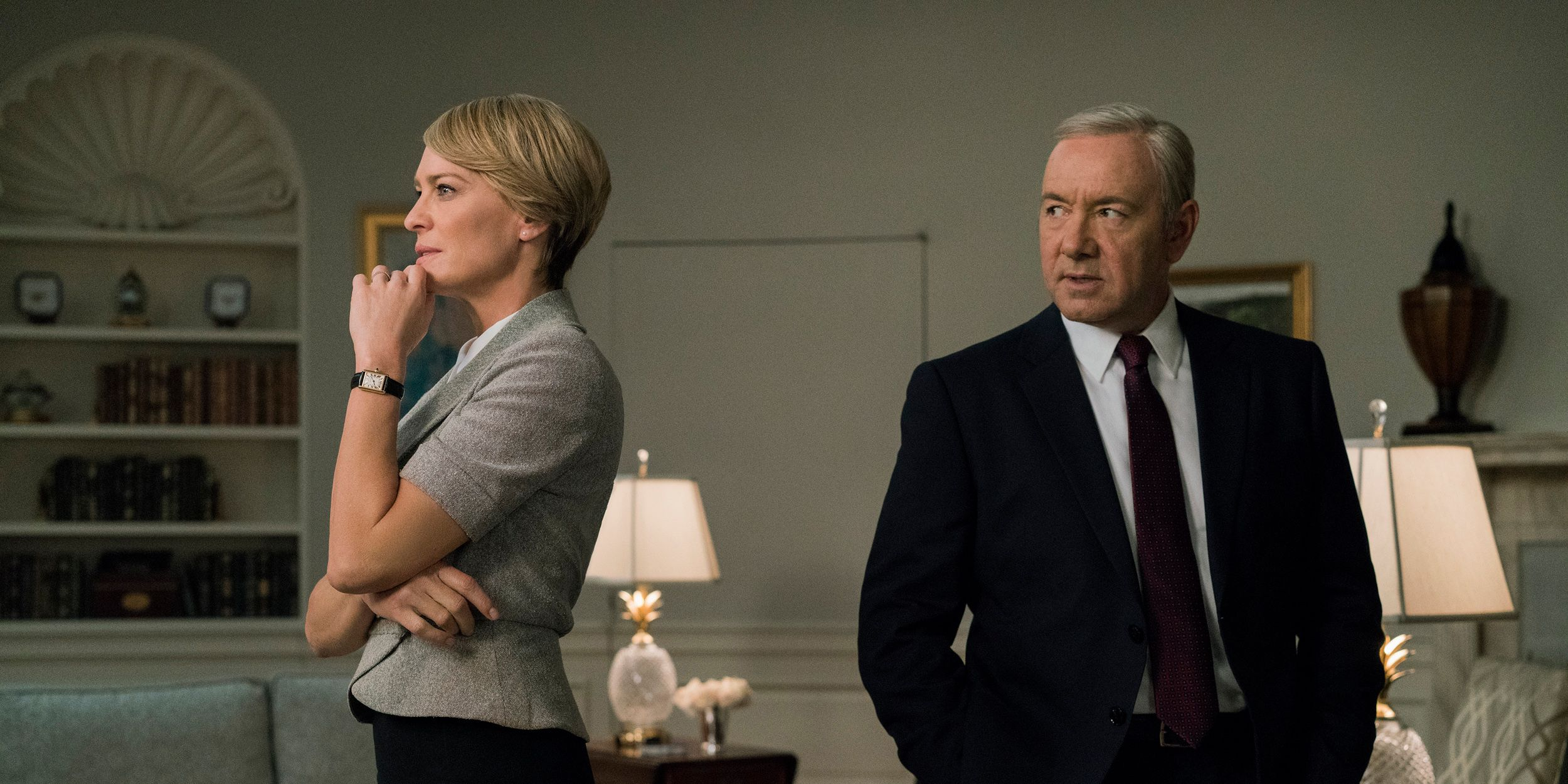Frank and Claire Underwood House of Cards
