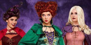 hocus pocus costumes halloween sanderson sisters