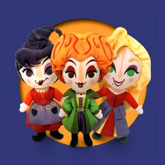 disney hocus pocus sanderson sisters plush dolls