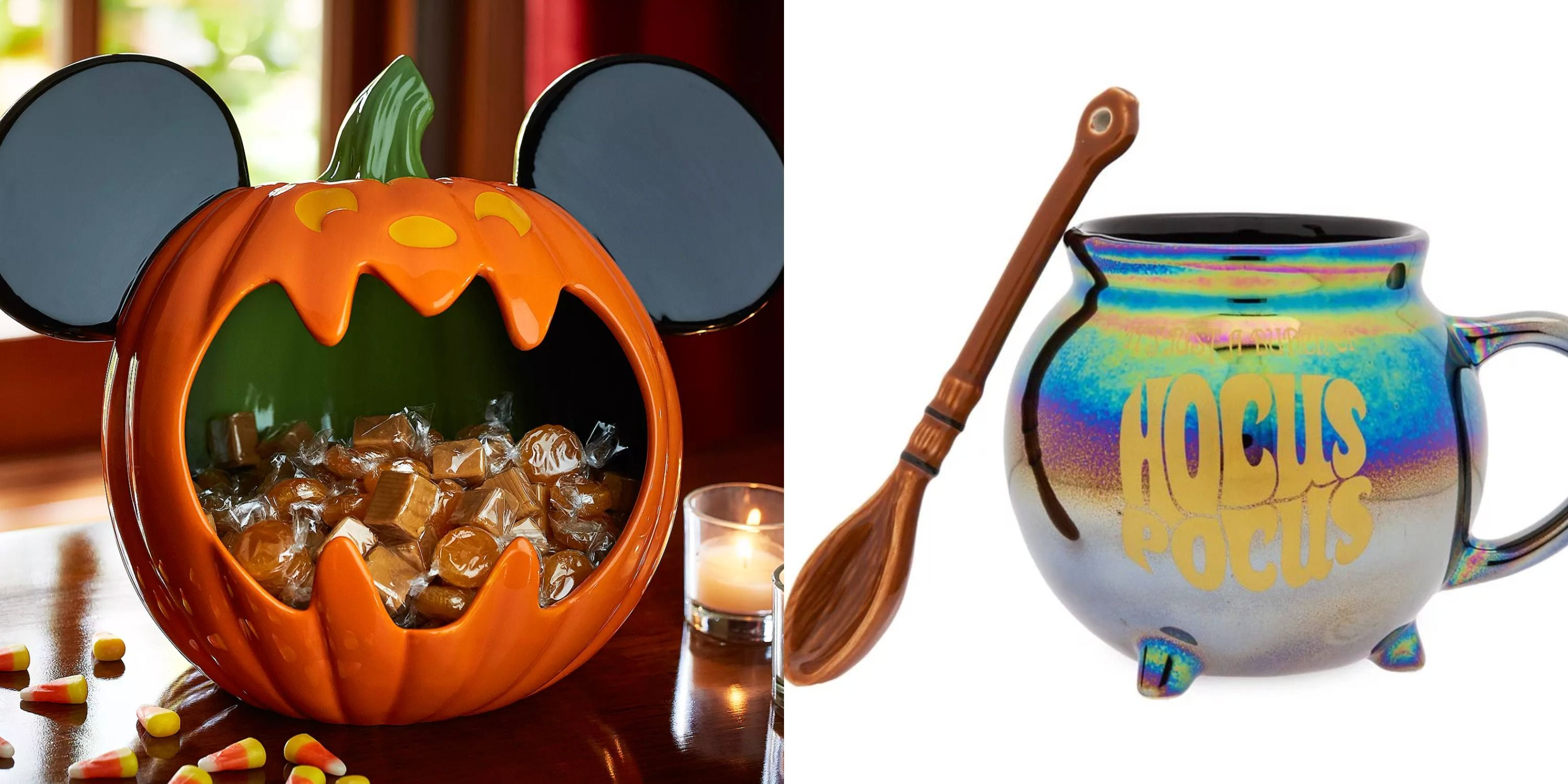 Halloween 2020 Is Perfect Disney Is Selling A Colorful 'Hocus Pocus' Mug Set This Halloween
