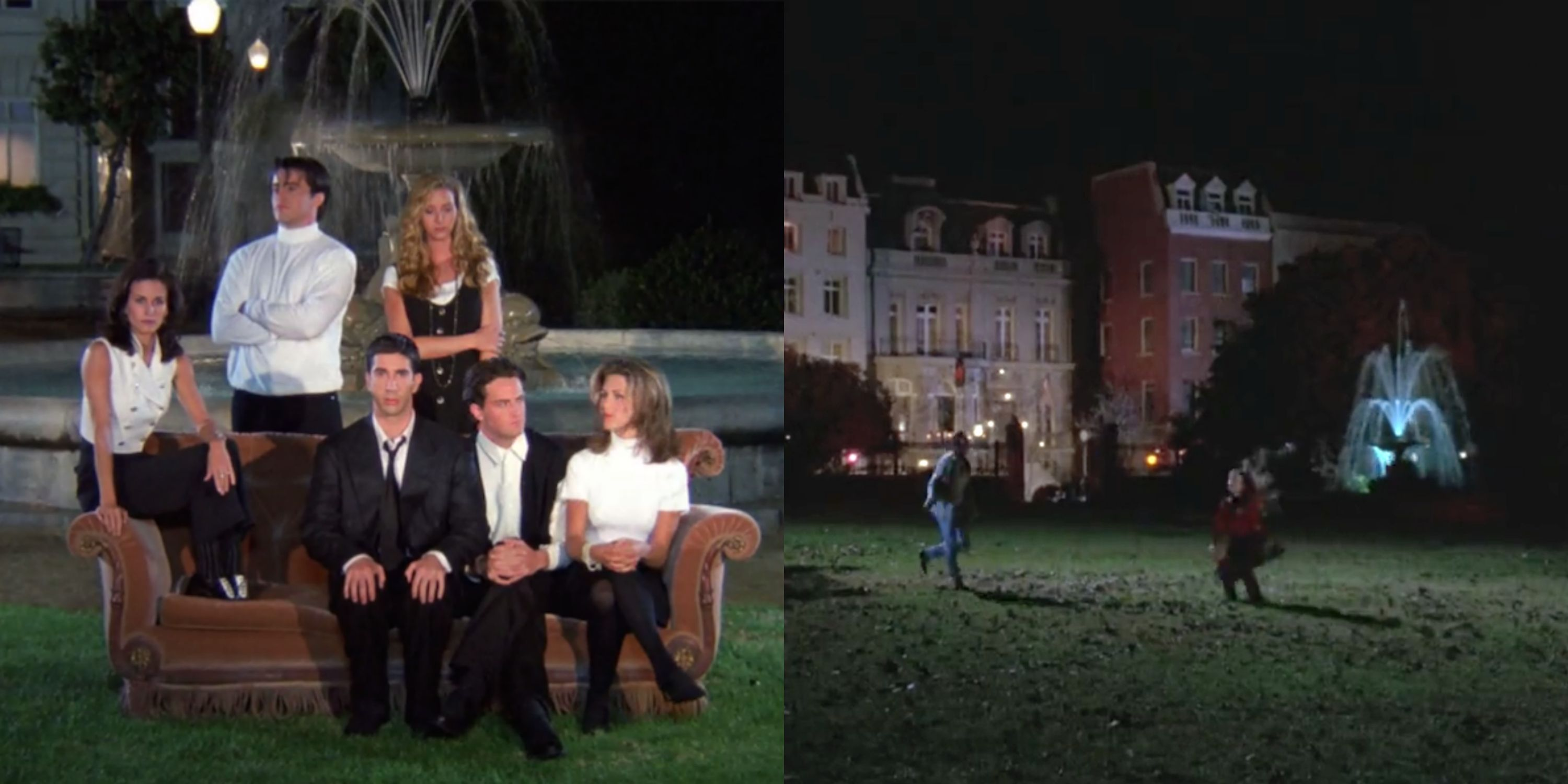 So It Turns Out That the Fountain From Friends Is the Same One in Hocus Pocus