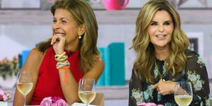 hoda kotb, maria shriver on the today show