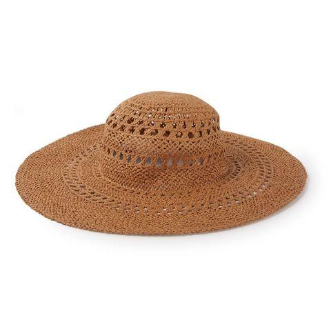zomerse hoed voor een vakantiegevoel thuis