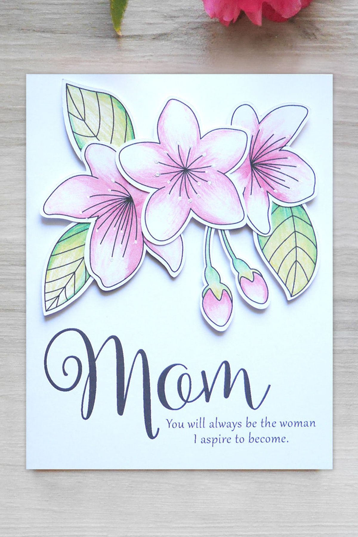 15 homemade mothers day cards easy mothers day card diys m4hsunfo