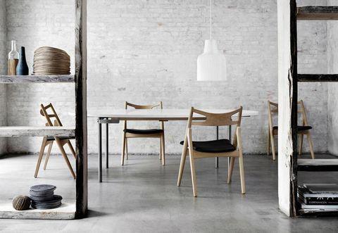 Room, Floor, Interior design, Furniture, Flooring, Still life photography, Stool, Plywood, Tile flooring,