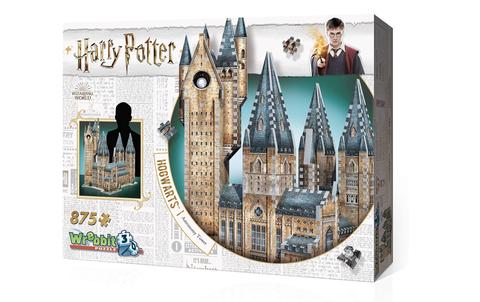 wrebbit 3d puzzle hogwas harry potter hogwarts astronomy tower puzzle