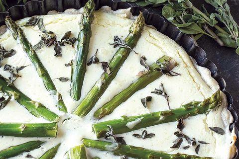 hojaldre de trigueros y hierbas aromáticas